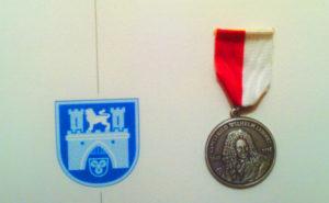 Медаль имени Лейбница. Фото: facebook.com