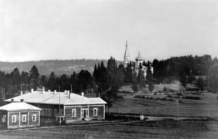 Так выглядела деревня в 30-е гг. при финнах. Фото: heninen.net