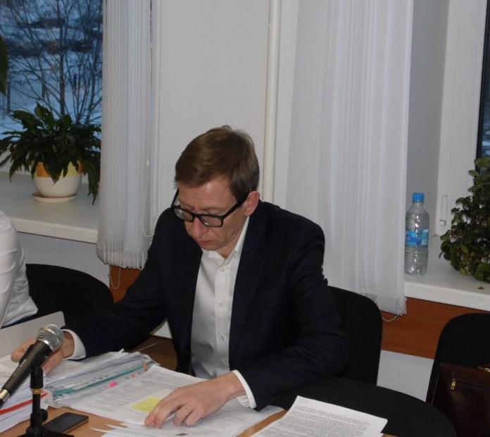 Представитель Галины Ширшиной. Фото: Алексей Владимиров