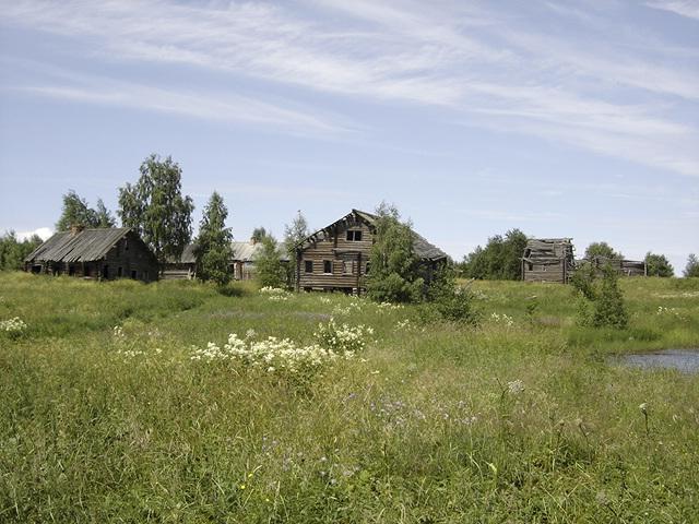 Заброшенная заонежская деревня. Фото: Валерий Поташов