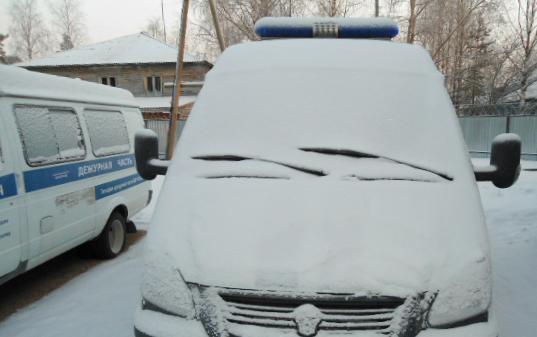 Служебный транспорт районной полиции. Фото: Алексей Владимиров