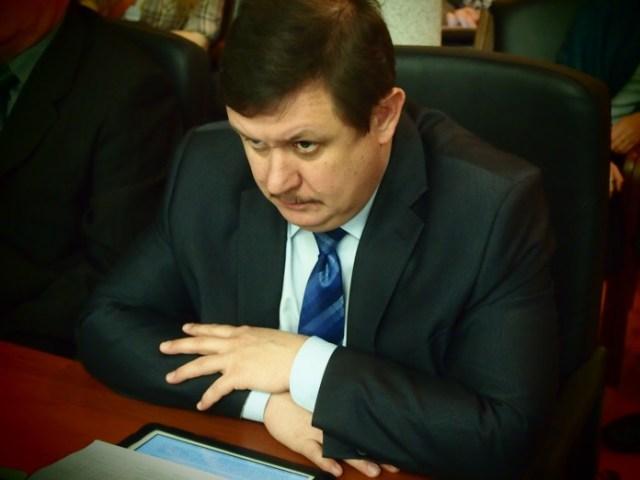 Председатель государственного контрольного комитета Виталий Галкин. Фото: Валерий Поташов