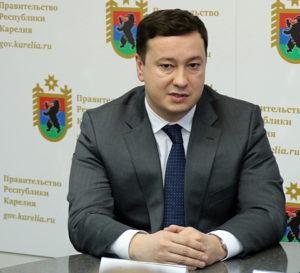 Руководитель Управления регионального развития и международных отношений АСИ Рустэм Давлетов. Фото: gov.karelia.ru