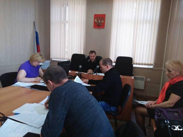 На заседании суда. Фото: Алексей Владимиров