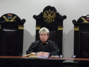 Судья Елена Власюк. Фото: Алексей Владимиров