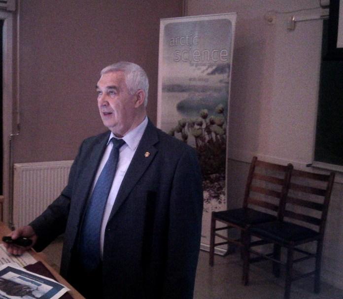 Вячеслав Зиланов - один из наиболее авторитетных российских экспертов в области рыболовства. Фото: Валерий Поташов