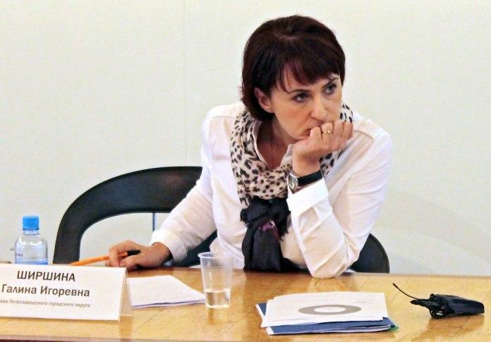 Последний избранный мэр Петрозаводска Галина Ширшина. Фото с официальной страницы Галины Ширшиной в сети
