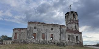 Церковь Николая Чудотворца в Сенной Губе. Фото: Сергей Куликов
