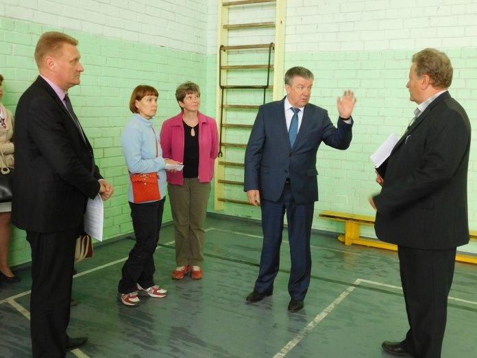 Глава Карелии в спортзале. Фото: mustoi.ru