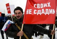Митинг в Петрозаводске в поддержку Крыма в марте 2014 года. Фото: Губернiя Daily