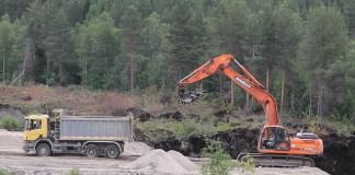 Строительство промышленной площадки для территории опережающего развития в поселке Надвоицы. Фото: gov.karelia.ru