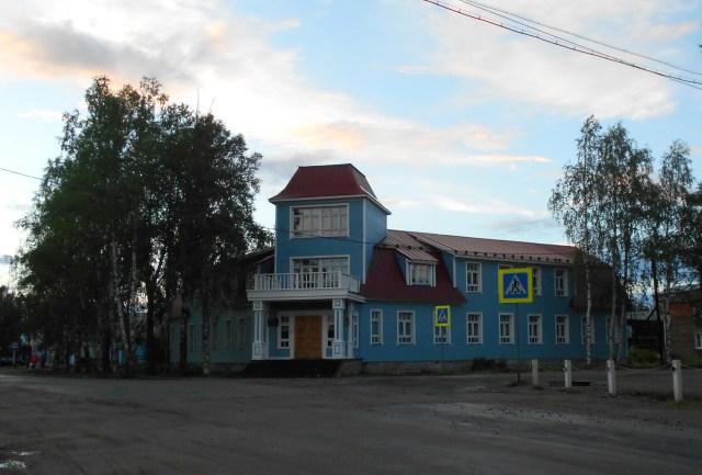 Дом Моберга - историческое здание в Калевале, реставрация которого продолжается более 13 лет. Фото: Андрей Туоми