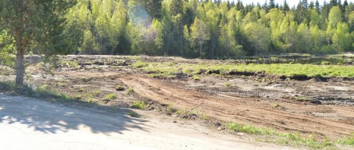 Так выглядят сельхозугодья после того, как с них сняли плодородную почву. Фото: Александр Луговской