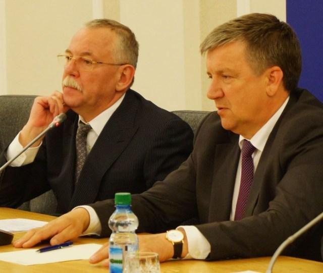 Андрей Нелидов и Александр Худилайнен. Фото: Губернiя Daily