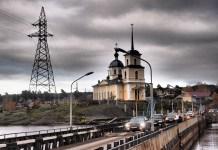 Соломенский мост в Петрозаводске. Фото: Валерий Поташов