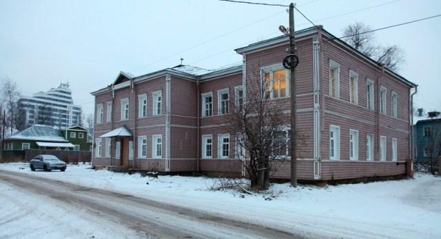 На улице Федосовой в Петрозаводске. Фото: kizhi.karelia.ru