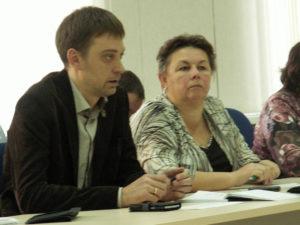 Андрей Рогалевич и Валентина Сукотова. Фото: Татьяна Смирнова