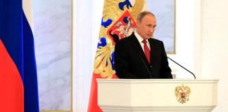 Президент России выступил с очередным посланием Федеральному Собранию. Фото: президент.рф