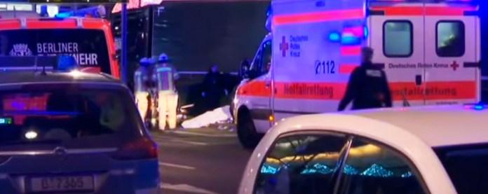 Жертвами теракта в Берлине стали 12 человек. Фото: Youtube