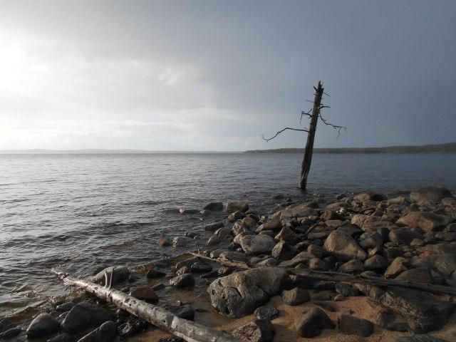 Погибшее судно осталось на дне Куйтто. Фото: Андрей Туоми