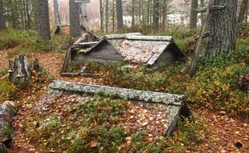 На старом карельском кладбище. Фото: Валерий Поташов