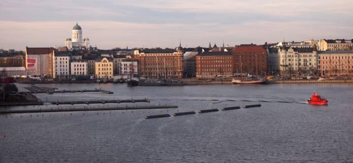 В столице Финляндии Хельсинки. Фото: Валерий Поташов