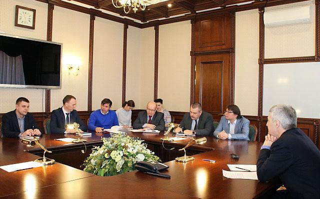 Врио главы Карелии на встрече с депутатами ЗС от ЛДПР. Фото: gov.karelia.ru