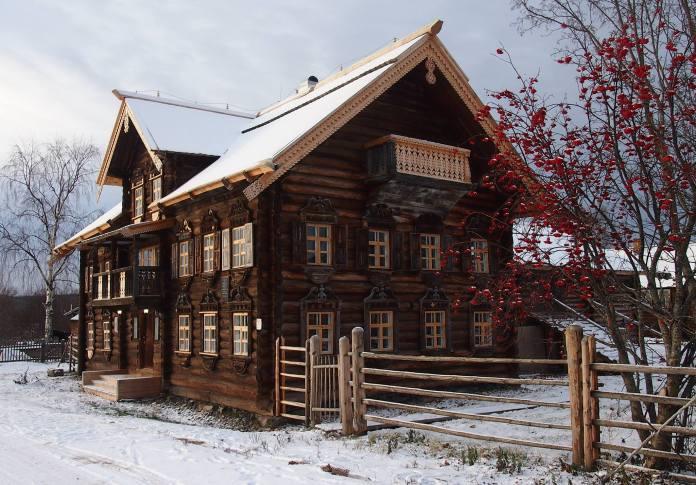 В вепсском селе Шелтозере. Фото: Валерий Поташов