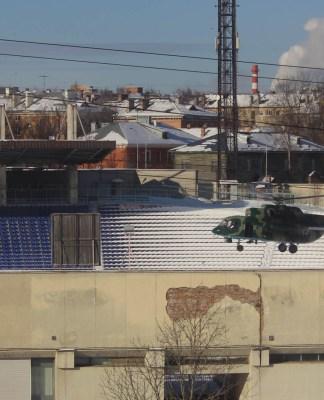 Контртеррористическое учение на главном стадионе Карелии. Фото: Сергей Мятухин