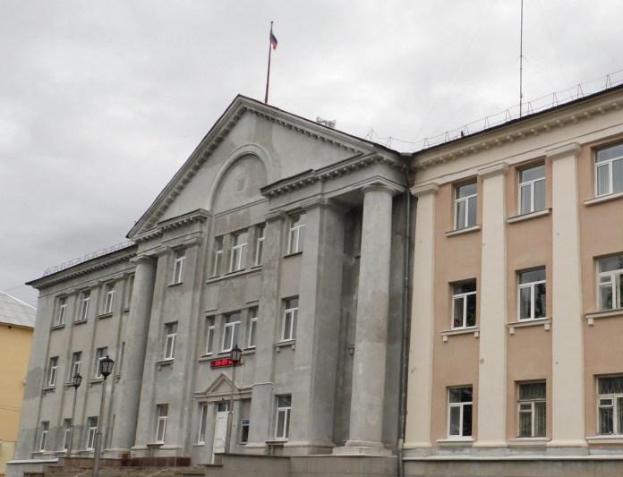 Кондопожская администрация. Фото: Алексей Владимиров