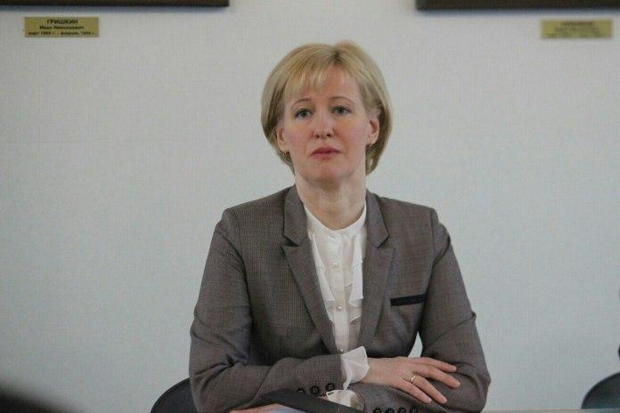 Сити-менеджер Петрозаводска Ирина Мирошник. Фото: Сергей Мятухин
