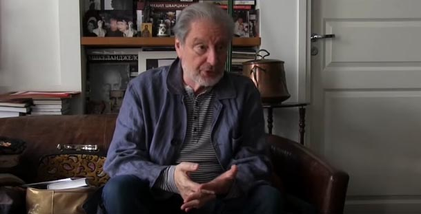 Актер и режиссер Вениамин Смехов. Фото: YouTube