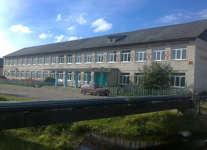Школа в Великой Губе. Фото из социальных сетей