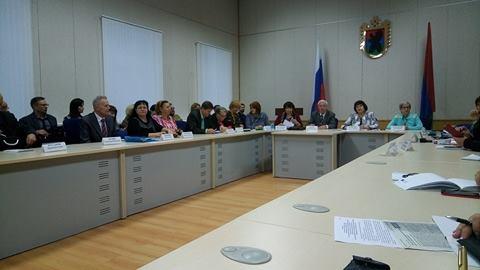 На заседании Общественной палаты Карелии. Фото: Татьяна Смирнова