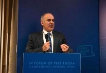 Гарри Каспаров на Форуме свободной России в Вильнюсе. Фото: After Empire