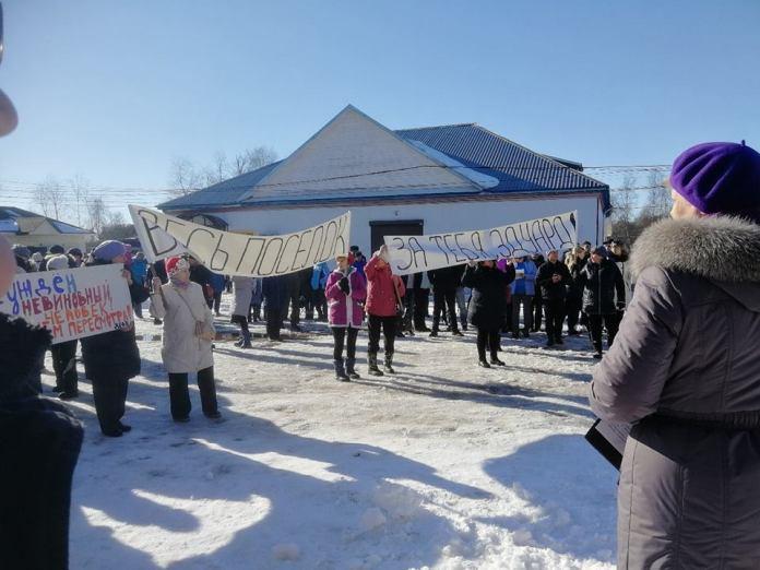 Таких массовых акций поселок Ильинский давно не видел. Фото: Елена Самарина