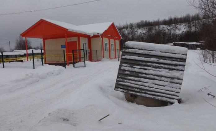 Колодец возле здания ФАПа. Фото: Сергей Матвеев
