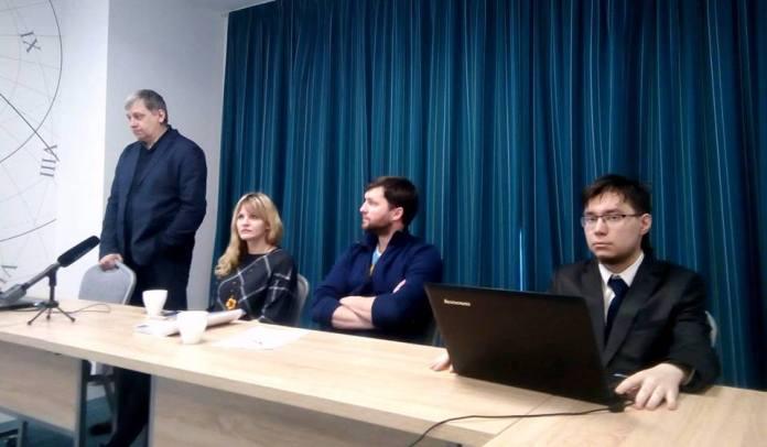 Итоговое заседание Общественного штаба по наблюдению за выборами президента России в Карелии. Фото: Валерий Поташов
