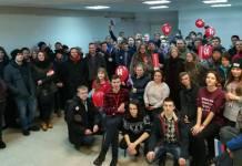 Карельские сторонники Навального в своем штабе. Фото: facebook.com