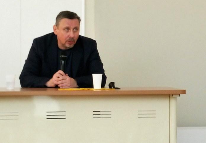 Историк Алексей Миллер выступил в Петрозаводске с открытой лекцией. Фото: Дмитрий Бобров