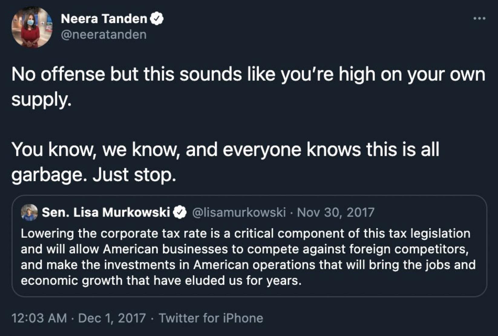 When Twitter bites: Did Murkowski kill Neera Tanden's nomination for White House job?