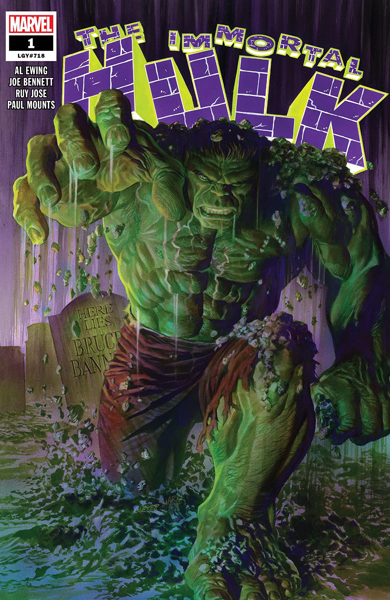 #1 Immortal Hulk