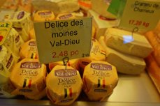 Cheese from the Abbey of Val Dieux