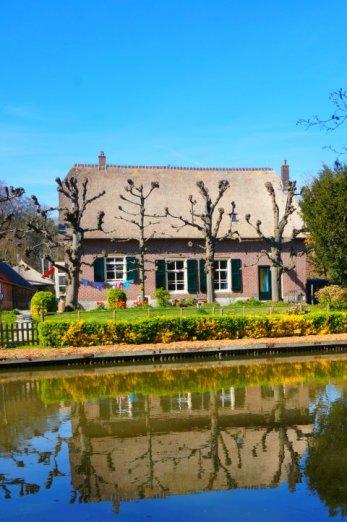 A Utrecht style ancient farmhouse.