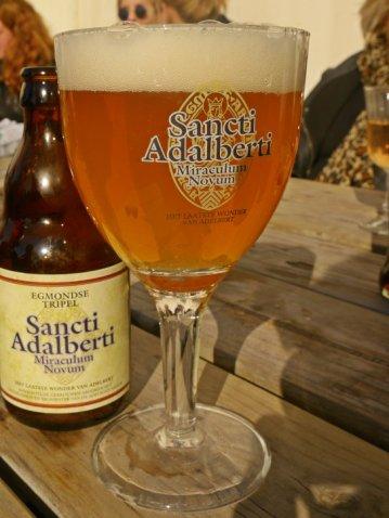 Beer from the Abbey of Egmond Binnen.
