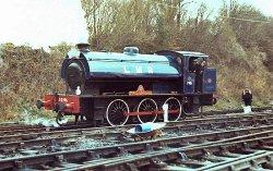 Locomotive in action on Railroad Festival Maldegem in Belgium
