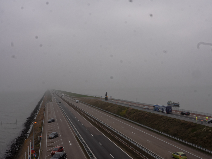 Holland Below Sea Level Afsluitdijk 32 km long