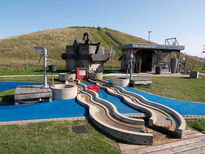 Rotterdam Beach and the Maeslantkering for Children