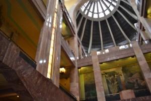 Vista iterior Palacio de Bellas Artes