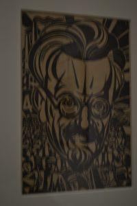 Retrato de Leon Trotsky por Frida Kalho